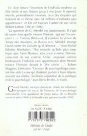 De Faust A Ubu - 4ème de couverture - Format classique
