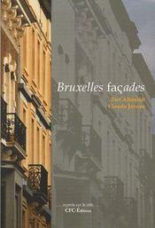 Bruxelles façades - Couverture - Format classique