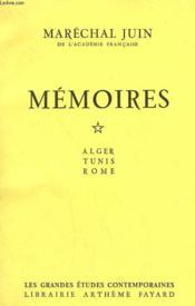 Memoires. En 2 Tomes. - Couverture - Format classique