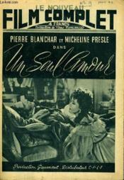 Le Nouveau Film Complet N° 9 - Un Seul Amour - Couverture - Format classique