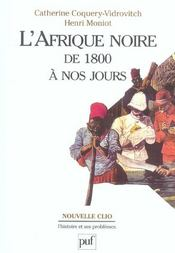 L'afrique noire de 1800 a nos jours - Intérieur - Format classique