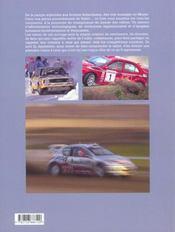 Rallye Passion - 4ème de couverture - Format classique