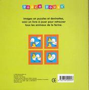 A La Ferme - 4ème de couverture - Format classique