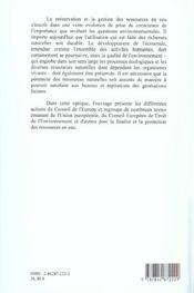 Revision De La Charte Europeenne De L'Eau Du Conseil De L'Europe, 196 8 - 4ème de couverture - Format classique
