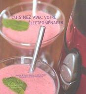 Cuisinez avec votre électroménager - Intérieur - Format classique