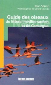 Guide des oiseaux du littoral méditerranéen et de Camargue - Couverture - Format classique