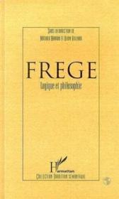 Frege, logique et philosophie - Couverture - Format classique