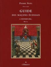 Guide des maçons écossais - Intérieur - Format classique
