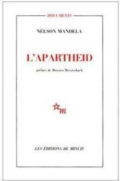 L'apartheid - Couverture - Format classique