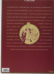 Fox t.1 ; le livre maudit - 4ème de couverture - Format classique