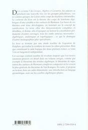 Surfaces De Riemann Equation De Halphen Et Groupes Polyedraux Groupes Algebres Et Geometrie Tome 3 - 4ème de couverture - Format classique