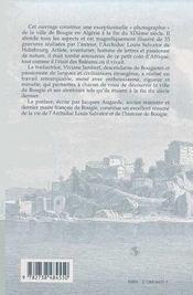 Bougie ; La Perle De L'Afrique Du Nord - 4ème de couverture - Format classique