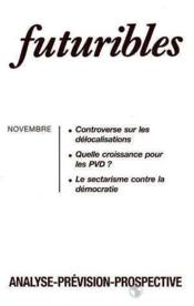 Futuribles n.181 novembre 1993 - Couverture - Format classique