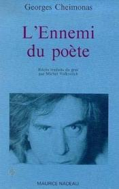 L'ennemi du poète - Couverture - Format classique