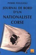 Journal De Bord D'Un Nationaliste Corse - Couverture - Format classique