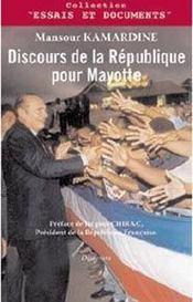 Discours de la république pour mayotte - Intérieur - Format classique