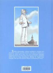 New-messiah.com t.1 ; one - 4ème de couverture - Format classique