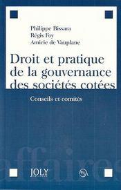 Droit et pratique de la gouvernance des sociétés cotées - Intérieur - Format classique