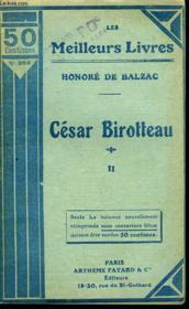 Histoire De La Grandeur Et De La Decadence De Cesar Birroteau - Tome 2 - Couverture - Format classique