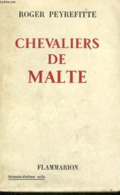 Chevaliers De Malte. - Couverture - Format classique