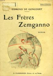 Les Freres Zemganno. Collection : Select Collection N° 42 - Couverture - Format classique