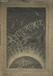 Astronomie Populaire. Tome 1. - Couverture - Format classique