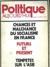 Politique Aujourd'Hui - Numero 7-8 - Couverture - Format classique