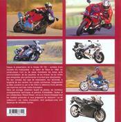 Motos D'Exception - 4ème de couverture - Format classique