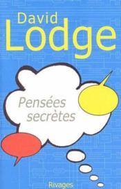 Pensees Secretes-1ere Ed - Couverture - Format classique