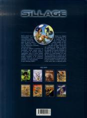 Sillage t.2 ; collection privée (édition 2007) - 4ème de couverture - Format classique