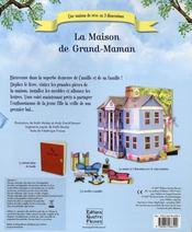 La maison de grand-maman - 4ème de couverture - Format classique