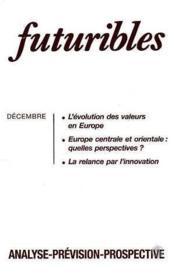 Futuribles n.182 decembre 1993 - Couverture - Format classique