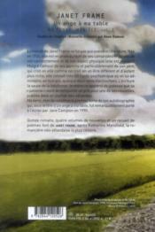 Ma terre, mon île ; un ange a ma table t.1 - 4ème de couverture - Format classique