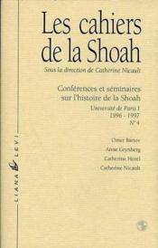 Cahiers De La Shoah No4 96/97 - Couverture - Format classique