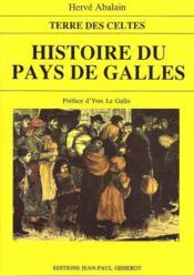 Histoire du pays de galles - Couverture - Format classique