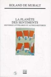 La Planete Des Sentiments - Couverture - Format classique