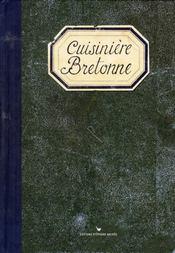 Cuisinière bretonne - Intérieur - Format classique