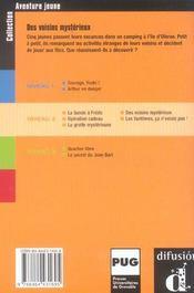Aventure Jeune-Des Voisins Mysterieux-Niv.2 - 4ème de couverture - Format classique