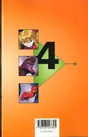 Neon-genesis evangelion t.4 ; l'arrivée d'azuka - 4ème de couverture - Format classique