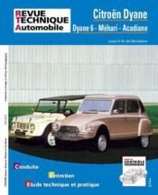 Rta 279.6 Citroen Dyane-Acadiane-Mehari (Fin De Fab) - Couverture - Format classique