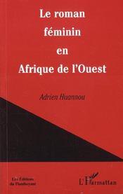 Le Roman Feminin En Afrique De L'Ouest - Intérieur - Format classique