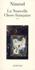 La Nouvelle Chose Francaise - Intérieur - Format classique