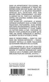 Les Paupieres De Lou - 4ème de couverture - Format classique