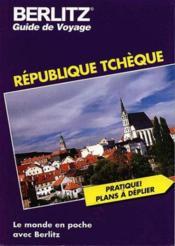 Republique tcheque - Couverture - Format classique