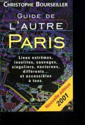 Guide De L'Autre Paris - Couverture - Format classique