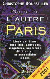 Guide De L'Autre Paris - Intérieur - Format classique