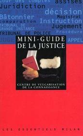 Mini-guide de la justice - Intérieur - Format classique