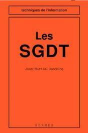 Les sgdt - Couverture - Format classique