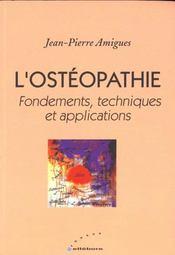 Osteopathie - Ed. Ellebore - Intérieur - Format classique