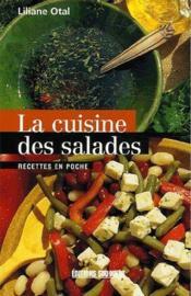La cuisine des salades - Couverture - Format classique
